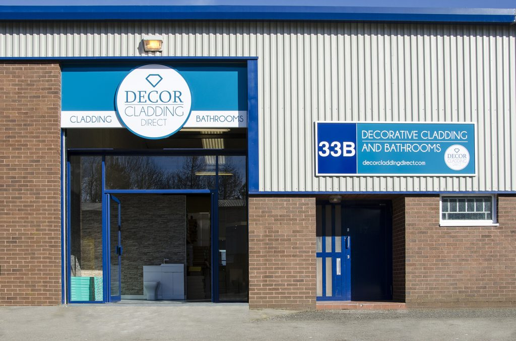 Decor cladding direct consett is now open decor for Decor direct